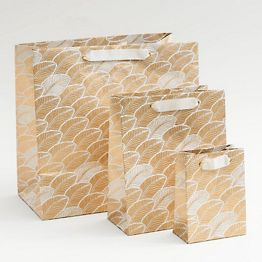 Gold Palms Gift Bags