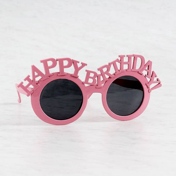 Atop a rosy pink Sunglasses frame sits a bold
