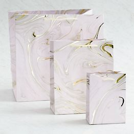 Blush Marble Gift Bags