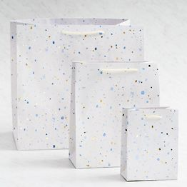 Foil Speckle Gift Bags