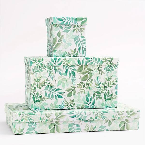 Watercolor Garden Gift Box