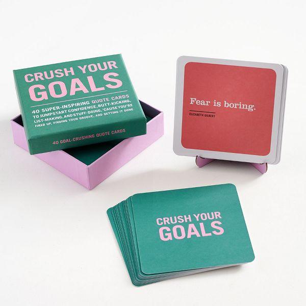 Crush Goals Cards