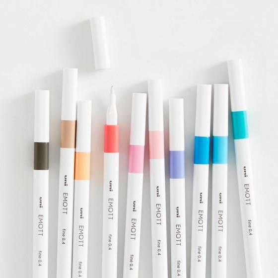 Emott Fineliner Passion Pen Set.