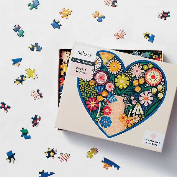 Heart Shaped Puzzle by Seltzer
