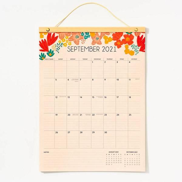 Paper Source Family Wall Calendar.