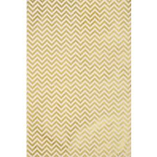 Lokta Chevron Gold On Cream Fine Paper