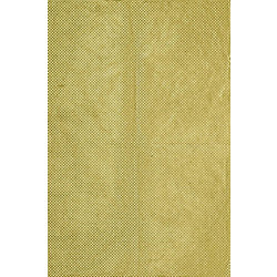 Lokta Gold Fish Scales on Chartreuse Fine Paper