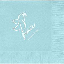 Peace Dove Custom Lunch Napkins