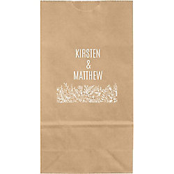 Wedding Flowers Small Custom Favor Bags