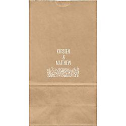 Wedding Flowers Large Custom Favor Bags
