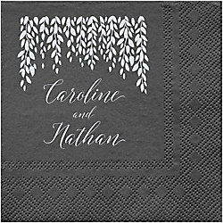 Willow Custom Cocktail Napkins