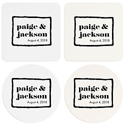Brush Border Custom Coasters
