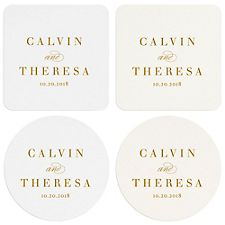 Paintbrush Custom Coasters