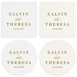 Paintbrush Custom Coasters