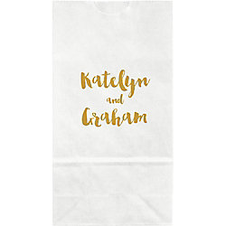 Brush Type Small Custom Favor Bags