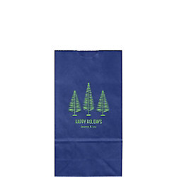 Bottle Brush Trees Small Custom Favor Bags