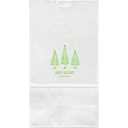 Bottle Brush Trees Large Custom Favor Bags