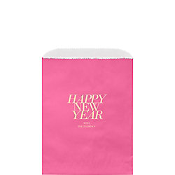 Happy New Year 2017 Custom Wax Lined Bags