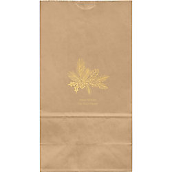 Holiday Sketch Large Custom Favor Bags