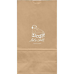 Let's Chill Large Custom Favor Bags