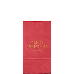 Merry Christmas 2016 Small Custom Favor Bags
