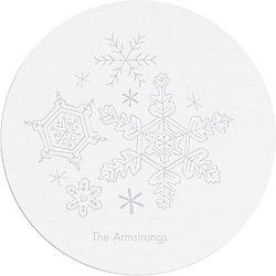 Snowflakes Custom Coasters