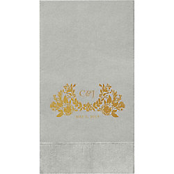 Topiary Custom Guest Napkins