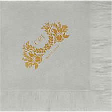 Topiary Custom Lunch Napkins