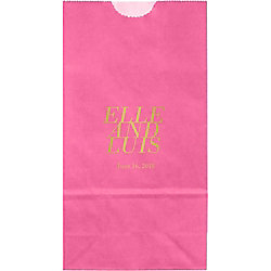 Collette Small Custom Favor Bags