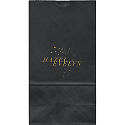 Jackson Large Custom Favor Bags