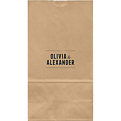 Playbill Large Custom Favor Bags