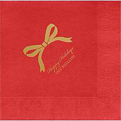 Bow Custom Lunch Napkins