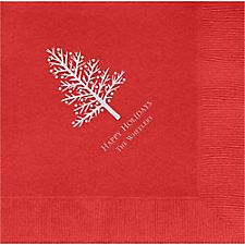 Tree Custom Lunch Napkins
