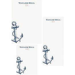 Nautical Mixed Personalized Note Pads