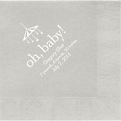 Oh Baby Custom Lunch Napkins
