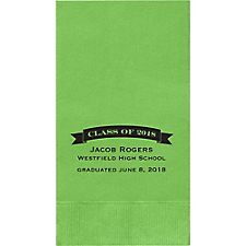 Class Of Graduation Custom Guest Napkins