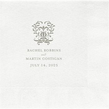 Iron Fence Custom Lunch Napkins