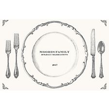Place Setting Custom Placemats - Escorial