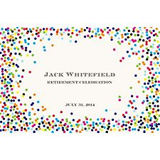 Color Confetti Custom Placemats - Escorial