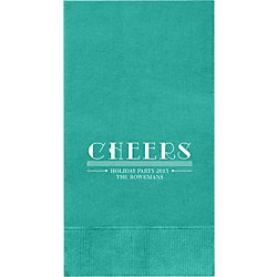 Cheers Custom Guest Napkins