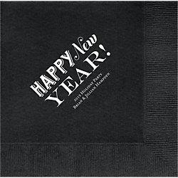 Happy New Year Custom Lunch Napkins