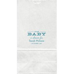 Sweet Baby Large Custom Favor Bags