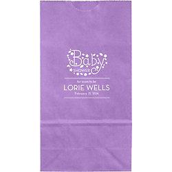 Whimsical Baby Small Custom Favor Bags