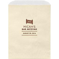 Torah Scroll Mitzvah Custom Wax Lined Bags
