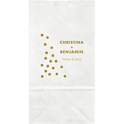 Confetti Small Custom Favor Bags