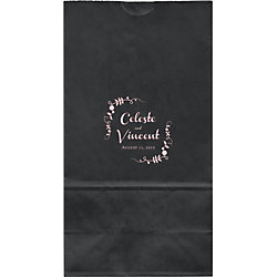 Le Jardin Large Custom Favor Bags