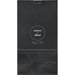 Spotlight Large Custom Favor Bags