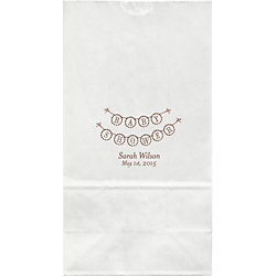Baby Shower Banner Large Custom Favor Bags