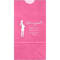 Mama Silhouette Small Custom Favor Bags