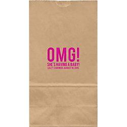 OMG Large Custom Favor Bags